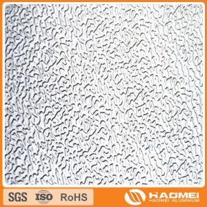 Concave-Convex/Semi-Spherical/Classic Orange PEE/Flat-Top Pebble/Corrugated/Wove Aluminum Embossing Coil pictures & photos