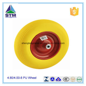PU Foam Wheelbarrow Wheel pictures & photos
