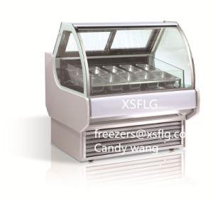 Ice Cream Display Case/ Gelato Showcase Freezers pictures & photos