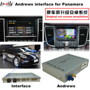(10-15) 7inch Upgrade Car GPS Navigation Multimedia Android Video Interface for Porsche-Panamera pictures & photos