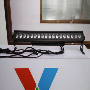 DMX512 Outdoor 18*10W RGBW 4 in 1 LED Wall Washer LED Bar pictures & photos