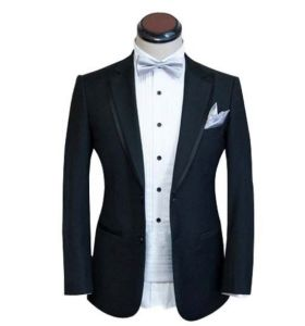 Men′s Tuxedo Slim Fit 100% Wool Suit pictures & photos
