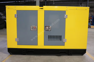 Silent Diesel Generator Set Powered by Cummins Engine 100kw/125kVA pictures & photos
