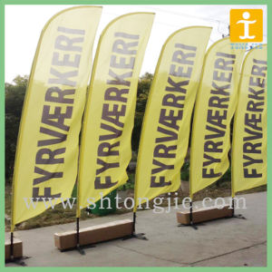 Outdoor Advertising Flying Feather Flag (TJ-006) pictures & photos
