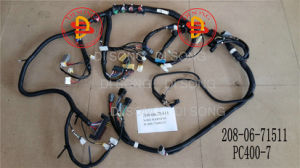 Komatsu Excavator Spare Parts, Engine Parts, Wiring Harness (208-06-71511) pictures & photos
