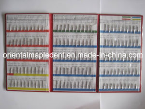 Dental Instrument Diamond Bur Sample Book (150PCS) Om-dB001 pictures & photos