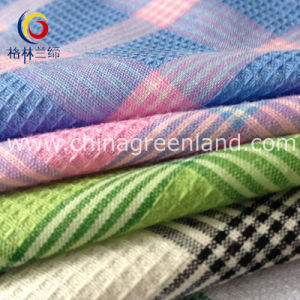 Checks Cotton Yarn Dyed Jacquard Fabric for Textile Shirt (GLLML160) pictures & photos