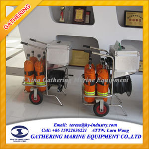 Trolley Type Air Breathing Apparatus with 50m Long Tube pictures & photos