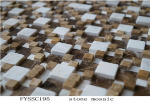 Building Material Nature Stone Mosaic, Ceramic Tile, Granite Tile (FYSSC195)