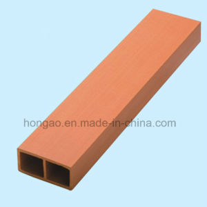 High Quality Decorative 40*12mm WPC Square Tube