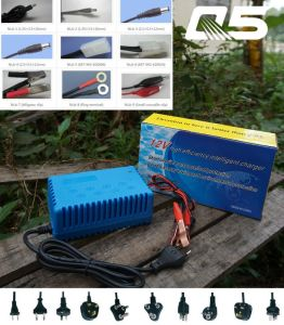 12V4A Automatic Trickle Lead acid battery Charger Storage Battery Charger pictures & photos