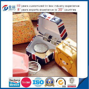 Handle Tin Wholesale Bag Shaped Chocolate Box pictures & photos