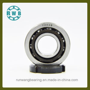 Single Row Angular Contact Bearings for Precision Machine Tool Spindle, Factory Production (7204B)