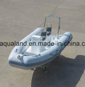 Aqualand 16feet 4.8m Rigid Inflatable Motor Boat /Rib Rescue Patrol Boat/Sports Dive Boat (RIB480T) pictures & photos