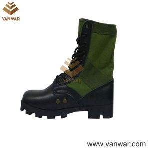 Olive Green Jungle Military Boots with Steel Toe Cap (WJB012) pictures & photos
