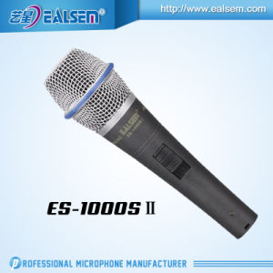 Professional Wired Condenser Metal Body Microphone