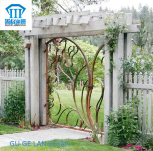High Quality Crafted Wrought Iron Gate/Door 026 pictures & photos