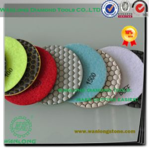 Granite Dry Polishing Pad for Limestone and Sandstone Grinding -Diamond Dry Polishing Pads pictures & photos