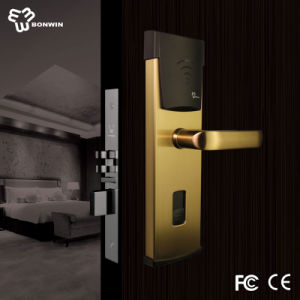 Electronic Mortise Cylinder Door Lock for Hotel pictures & photos