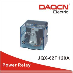 80A 24VDC Coils Single Pole High Power Relay (jqx-62f)