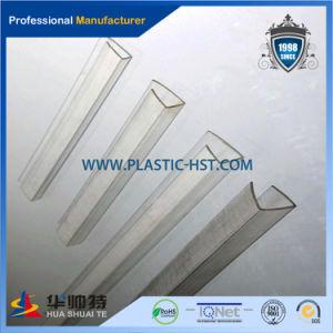 Popular PC Sheet Connector Transparent Polycarbonate Profile pictures & photos