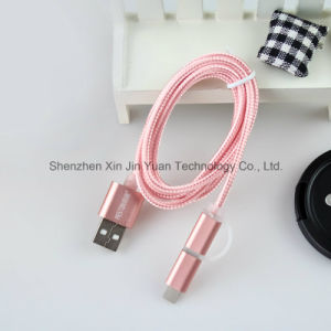 1m Nylon Insulated Micro USB Cable Faster Charger and Data Sync Cable for Andriod Mobile pictures & photos