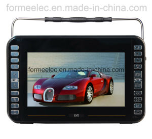 "9"" Portable DVD Player USB MP3 with Bluetooth FM TV pictures & photos"