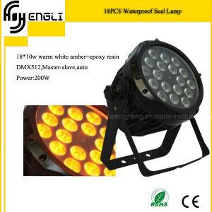 18PCS Waterproof PAR Light of Stage Lighting (HL-027) pictures & photos