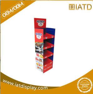 Pop up Cardboard Retail Display Wall Supermarket Book Shelf pictures & photos