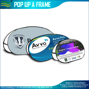 Free Design Pop up a Frame Banner Stand Display (M-NF22F06022) pictures & photos