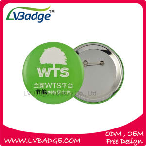 Custom Own Logo Tin Button Badge pictures & photos