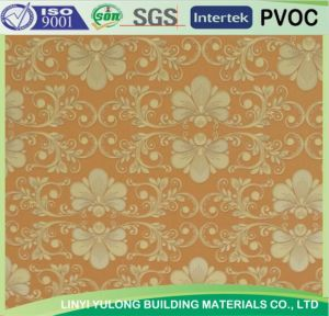 PVC Panel Design /Paper Design Gypsum Ceiling Tiles pictures & photos