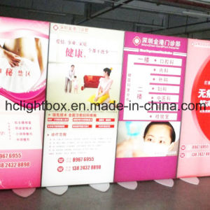 Frameless Double Fabric Textile Light Poster Frame Lightbox pictures & photos