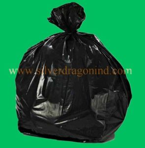 LDPE Black Large Plastic Garbage Bags on Roll pictures & photos