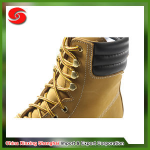 Suede Leather Anti-Abrasion Breathable Insole Waterproof Cheap Desert Boots pictures & photos