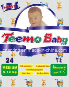 Teemo Baby Breathable Ultra Thin Baby Diapers pictures & photos
