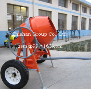 CMH400 (CMH50-CMH800) Zhishan Portable Electric Gasoline Diesel Concrete Mixer pictures & photos