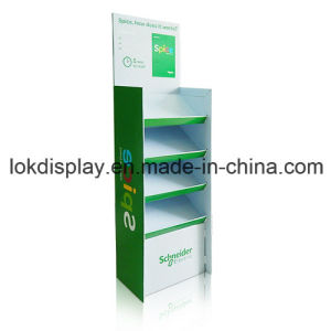 Corrugated Cardboard Flooring Display Stands, Shelving Display Factory pictures & photos