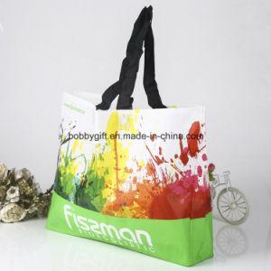 Customized Handle Non Woven Shopping Bag pictures & photos
