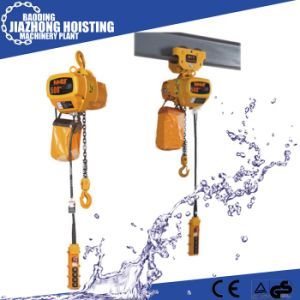 Huaxin 1ton 5meter Electric Construction Hoist for Crane pictures & photos