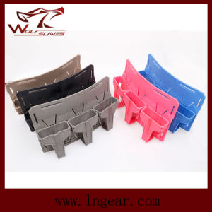 Triple Smr Mag Holder M4 5.56 Pouch for Tactical Gear Magazine Pouch pictures & photos