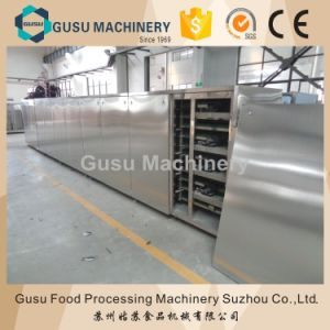 Ce Food Gusu Machinery Chocolate Moudling Machine with Caramel Stuffing pictures & photos