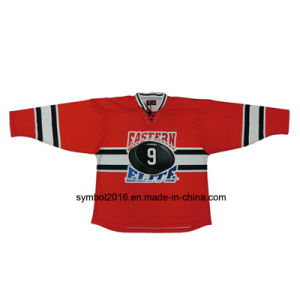 Ice Hockey Sublimated Jersey for Custom Orders of Sports Jersey