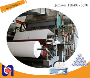 1760mm Toilet Paper Machine, Paper Recycing Industrial Machinery Plant pictures & photos