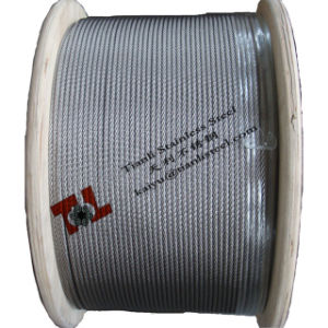 304 Stainless Steel Wire Rope 7X7 1.5mm pictures & photos