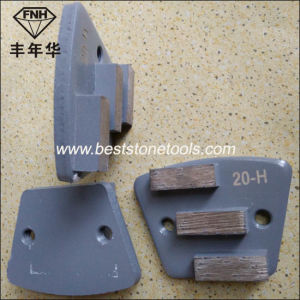 CD-59 Diamond Trapezoid Grinding Wheel for Concrete Grinding Machine