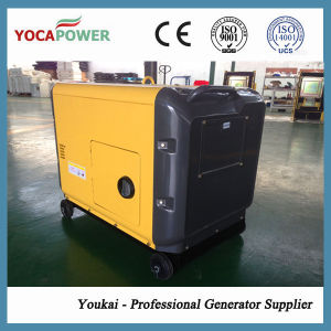 5kw Electric Start Power Soundproof Diesel Generator pictures & photos