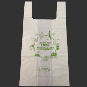 100% Fully Bioplastic/Biodegradable/Compostable Garbage Bag pictures & photos