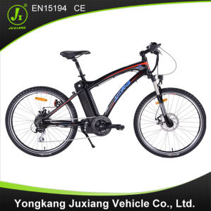 "26"" Aluminum Alloy Frame Electric Mountain Bike pictures & photos"