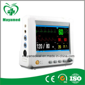 My-C003A Medical Good Quality 7 Inch LCD Display 5 Standard Parameters Multiparameter Patient Monitor for Ambulance pictures & photos